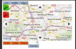 Visualisation CDAC et Traffic routier